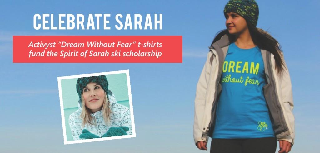 Sarah Burke Tee Website Design